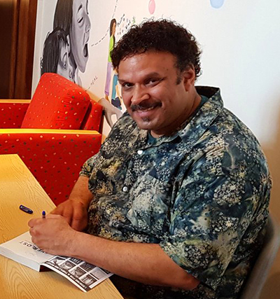 Neal Shusterman, visiting author